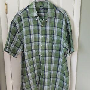 Nautica linen blend shirt